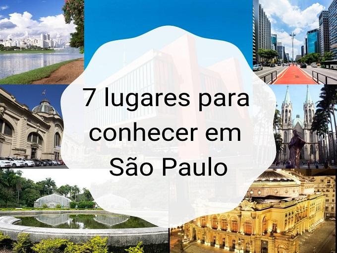 7 lugares para conhecer em São Paulo