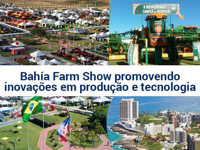 Bahía Farm Show promovendo inovações em produção e tecnologia