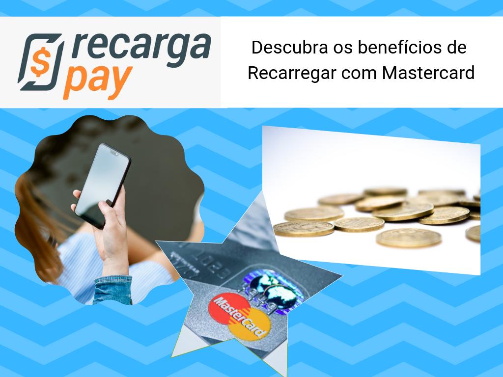 Benefícios de usar o cartão pré-pago MasterCard