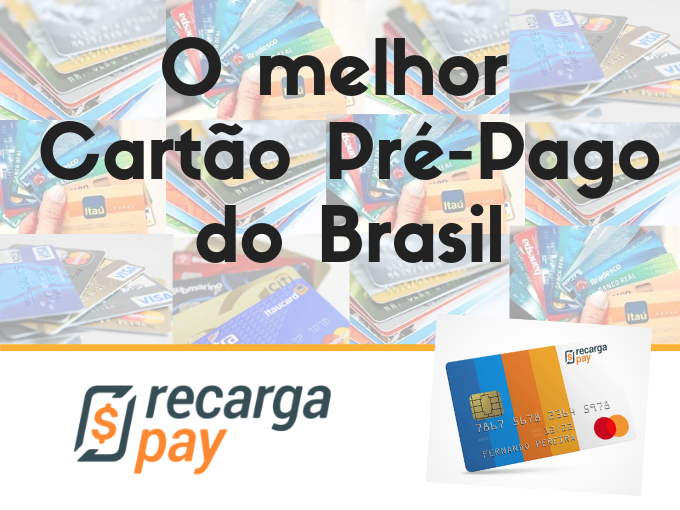 O melhor Cartão Pré-pago do Brasil
