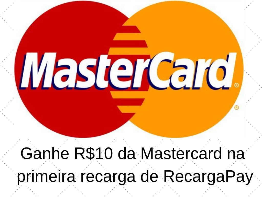 Ganhe R$10 de Mastercard