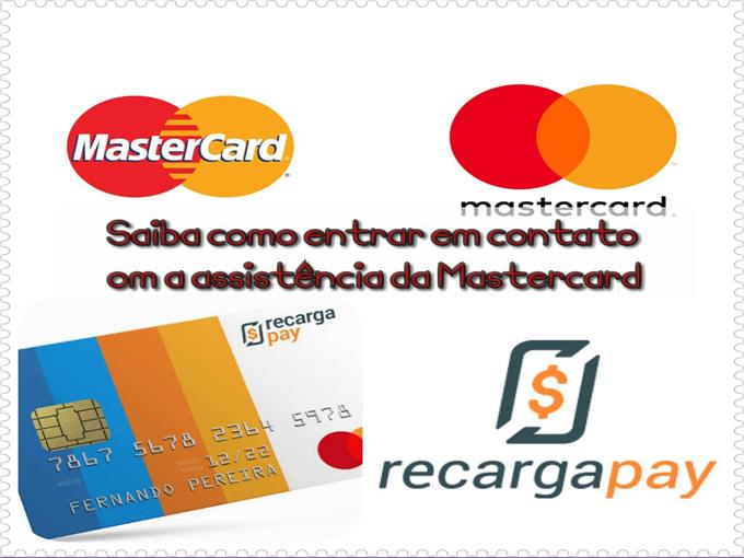Entre em contato com a assistência da Mastercard