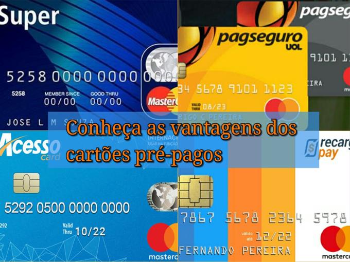 Entenda a vantagem de ter um cartão pré-pago