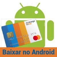 Obtenha seu cartão prépago para Android