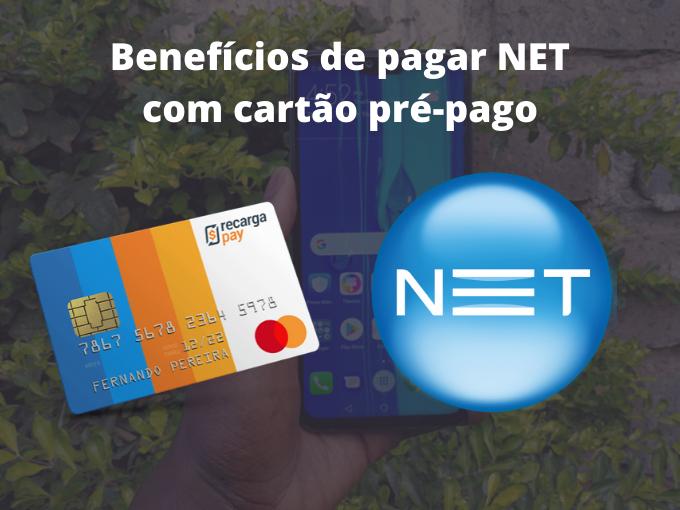 Beneficios de pagar NET com cartao prepago