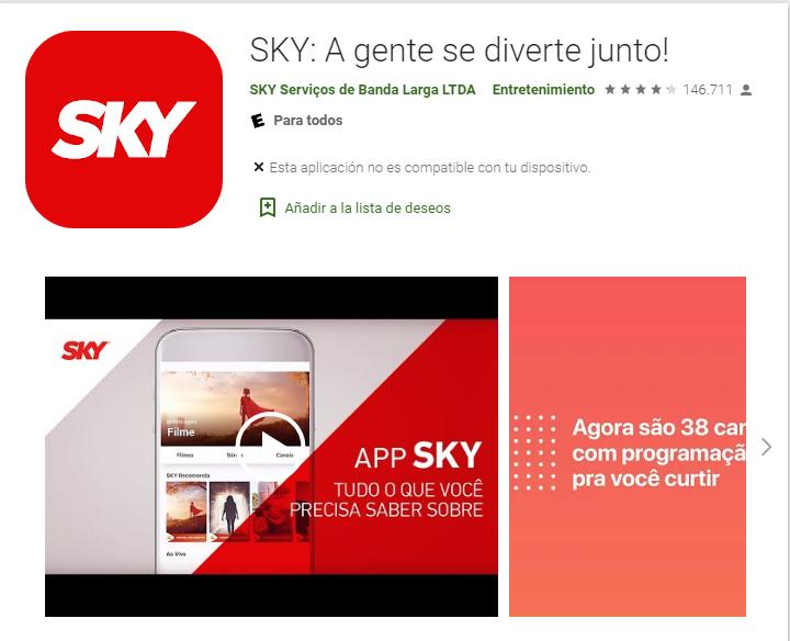 Baixe o app Sky