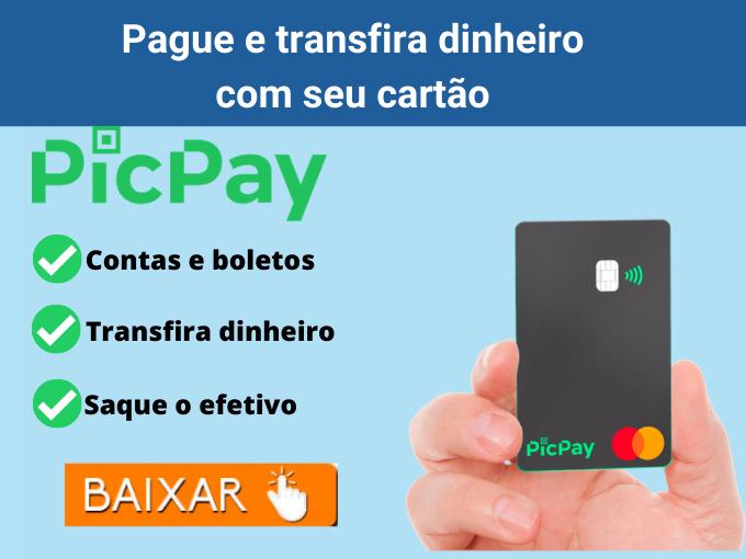 Pague e transfira dinheiro com seu cartão